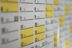 dアニメストア_カレンダー黄色