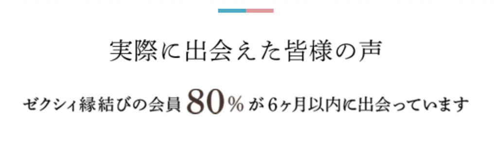 ゼクシィ縁結び 口コミ・評判