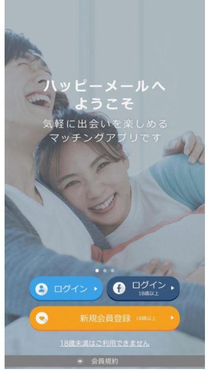 ハッピーメール_評判_ログイン_できない